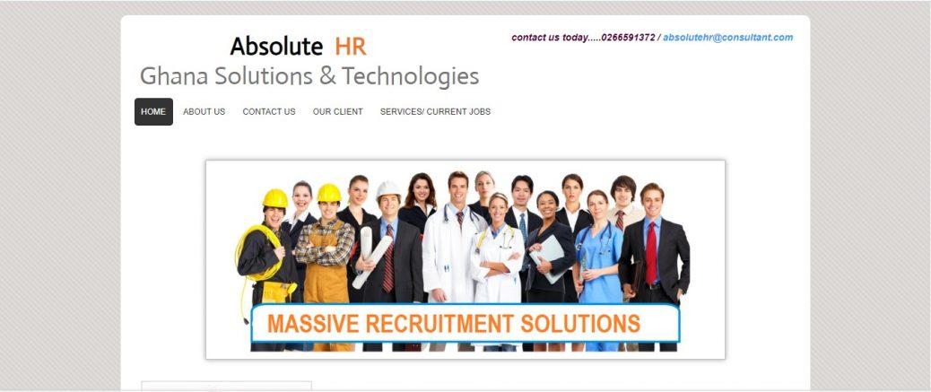 Absolute HR Ghana Solutions & Technologies
