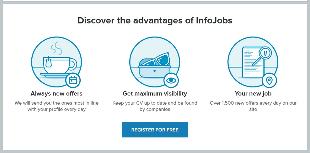 Advantages of Infojobs IT