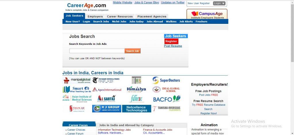 Career Age India