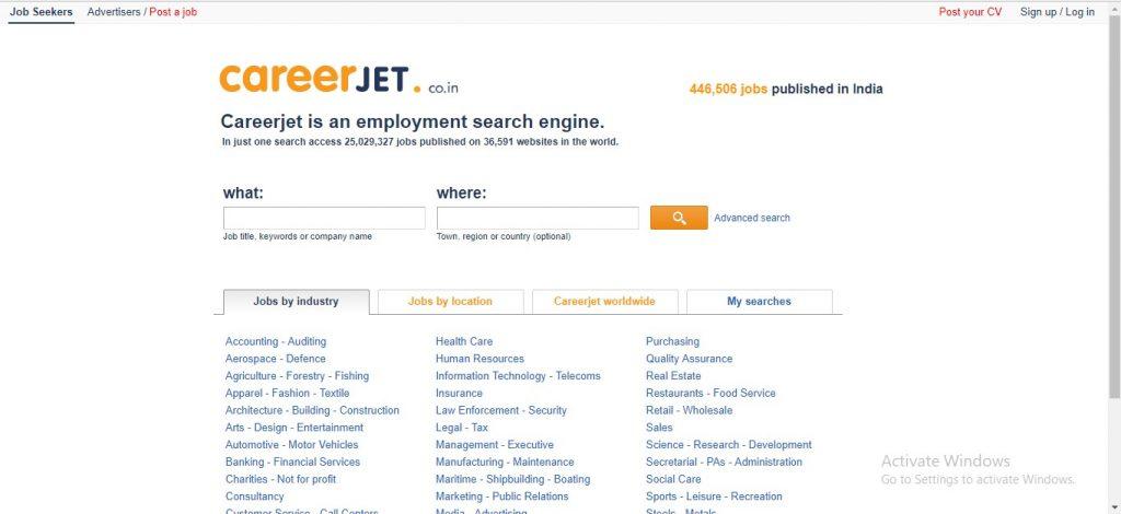 Career Jet India