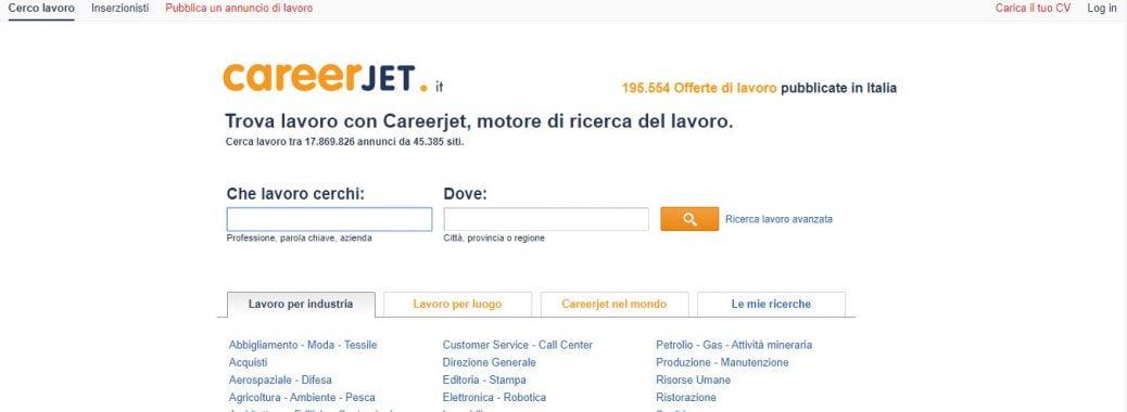 CareerJet Italy - job sites in Italy
