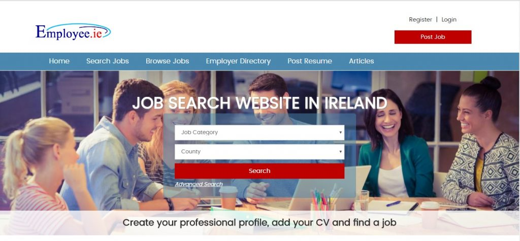 Employee.ie job portals in Ireland