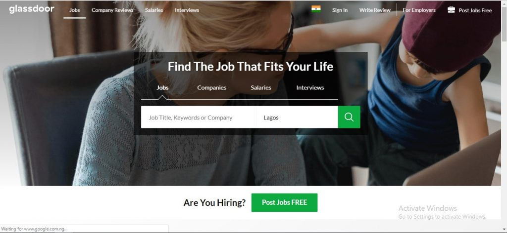 Glassdoor Jobs India