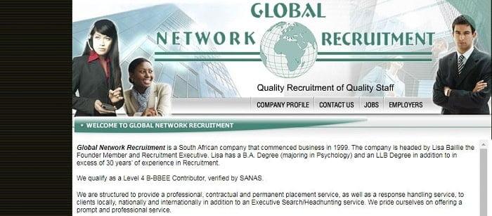 Global Network Recruitment