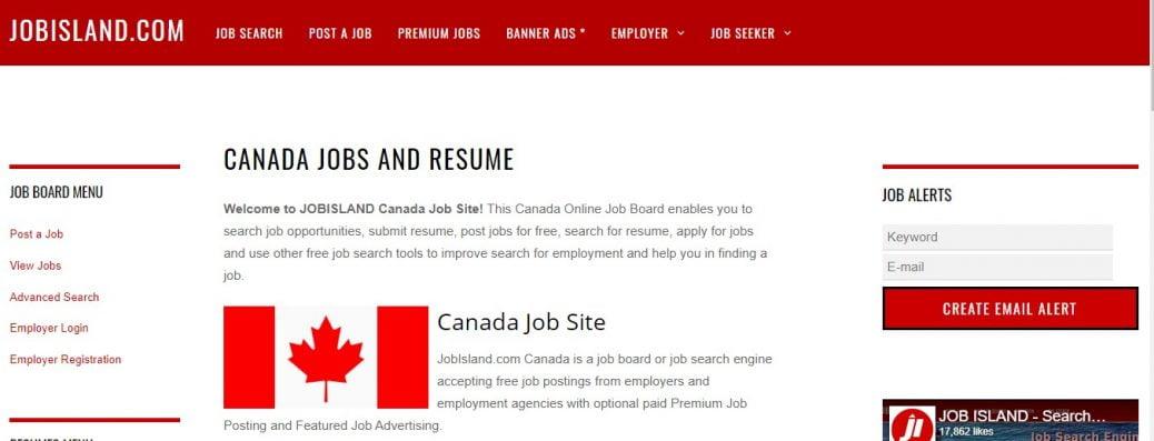 Jobisland Canada