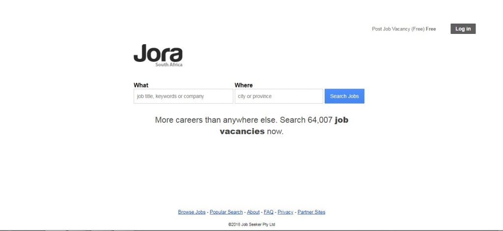 Jora job South Africa