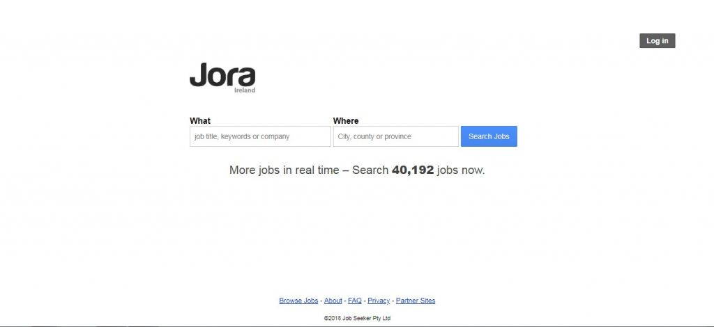 Jora-job portals in Ireland