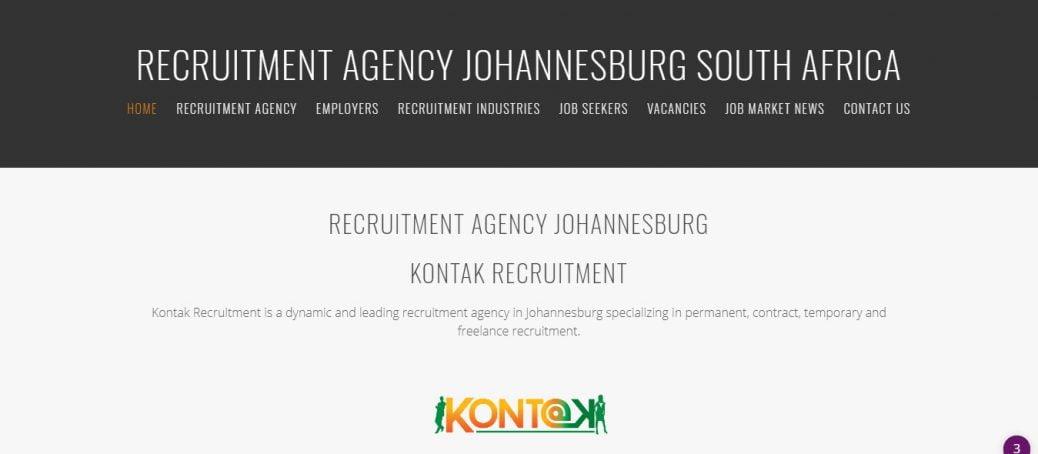 Kontak recruitment agency