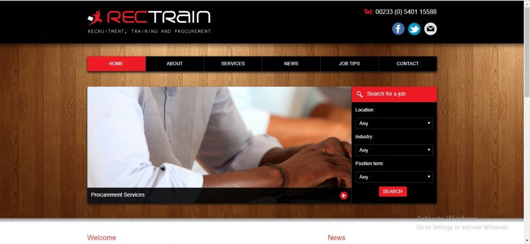 Retrain Recruitment Ghana
