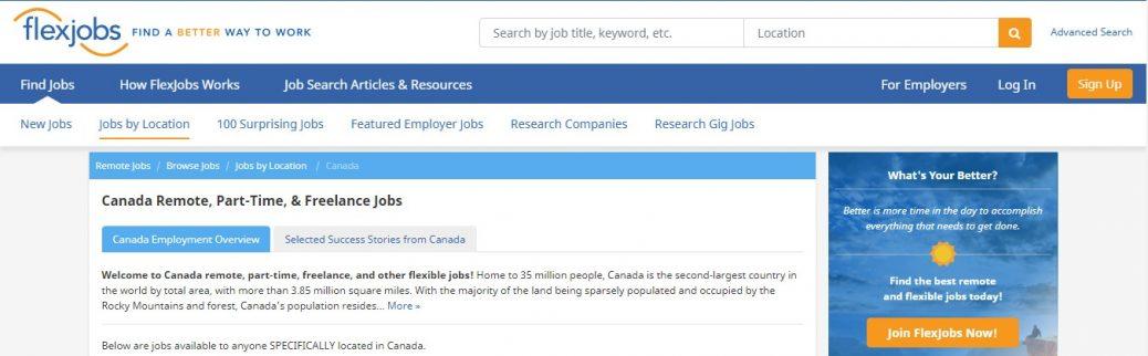 flexjobs canada