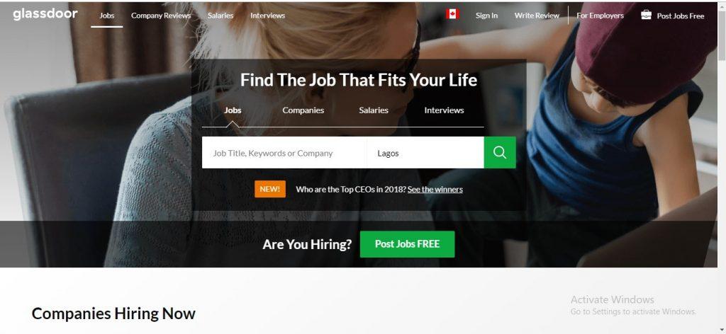 Glassdoor Jobs Canada