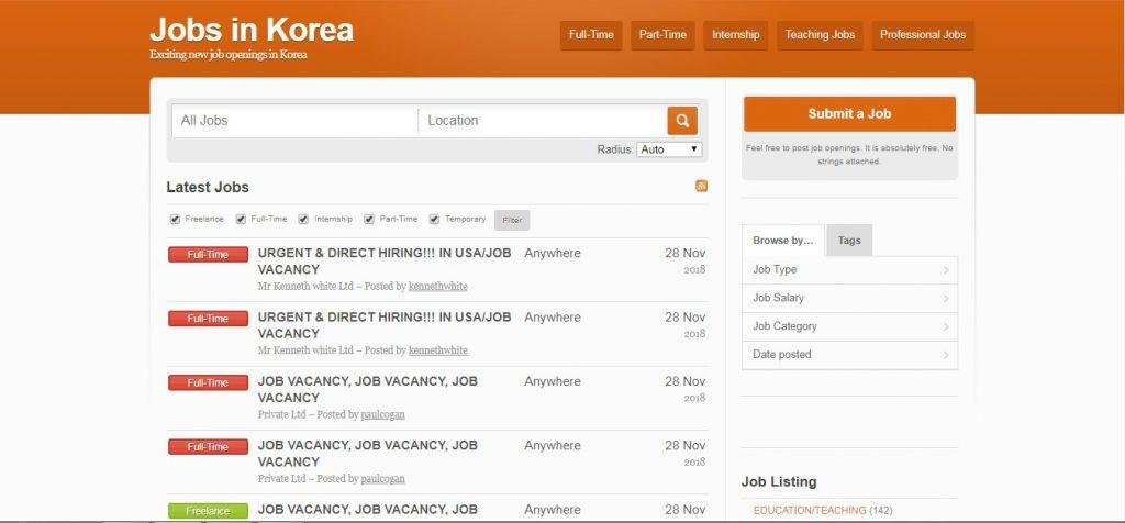 20 South Korean job sites - Job Portals & Boards (Updated