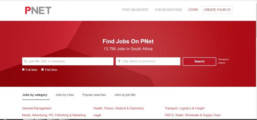 Pnet.co.za South Africa