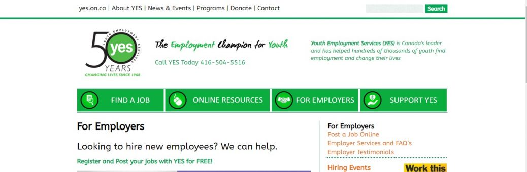 youth employment services (yES)