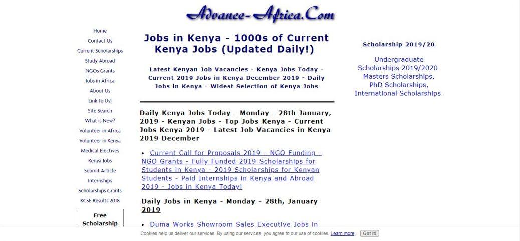 20 Kenyan job sites - job websites, portals & board (Updated 2019