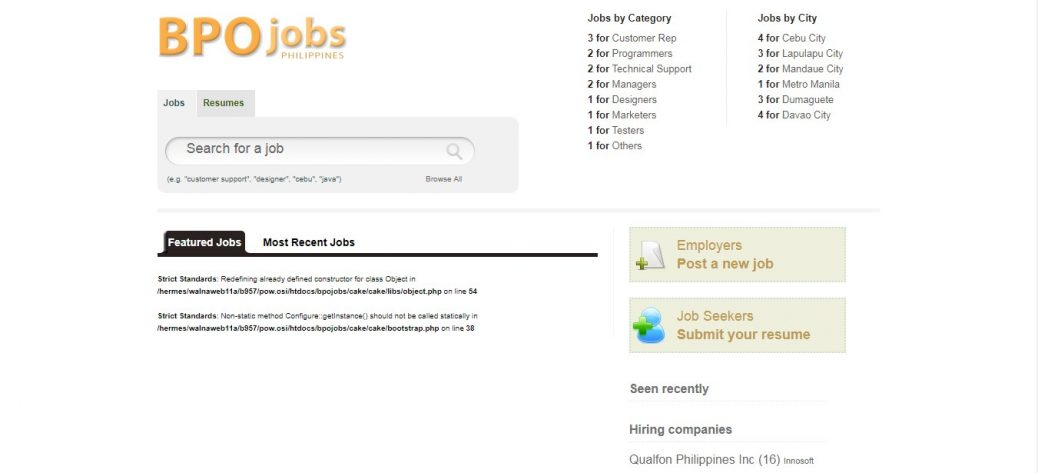 Search And Get Promising Jobs Here