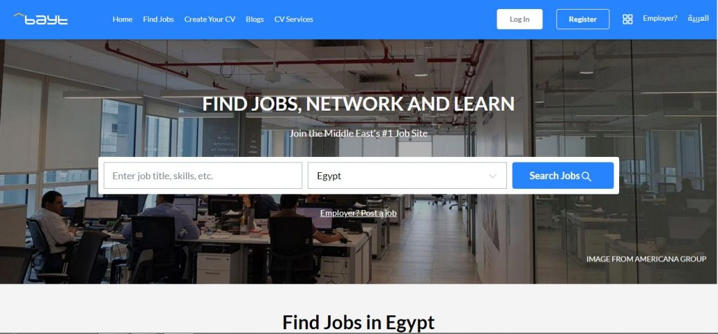 30 best Job sites in Egypt - job portals & boards (Updated 2019) - Yaioa