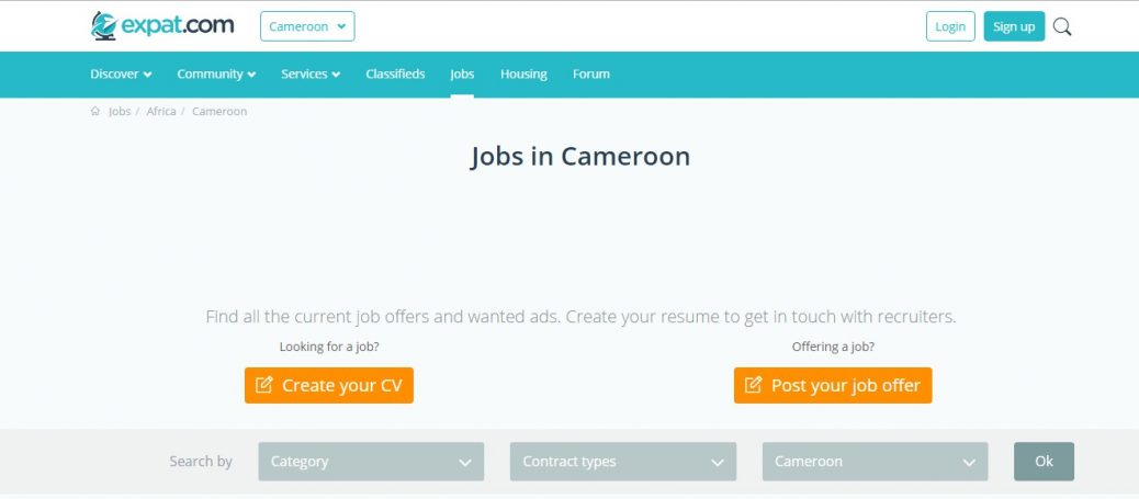 30 Job Sites in Cameroon - job portals and boards(Updated for 2019
