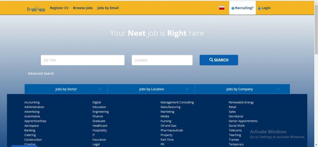Fratress Polska Job site