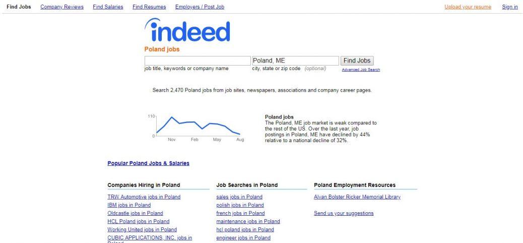 15 polish job sites - Screenshot, Features, How to's