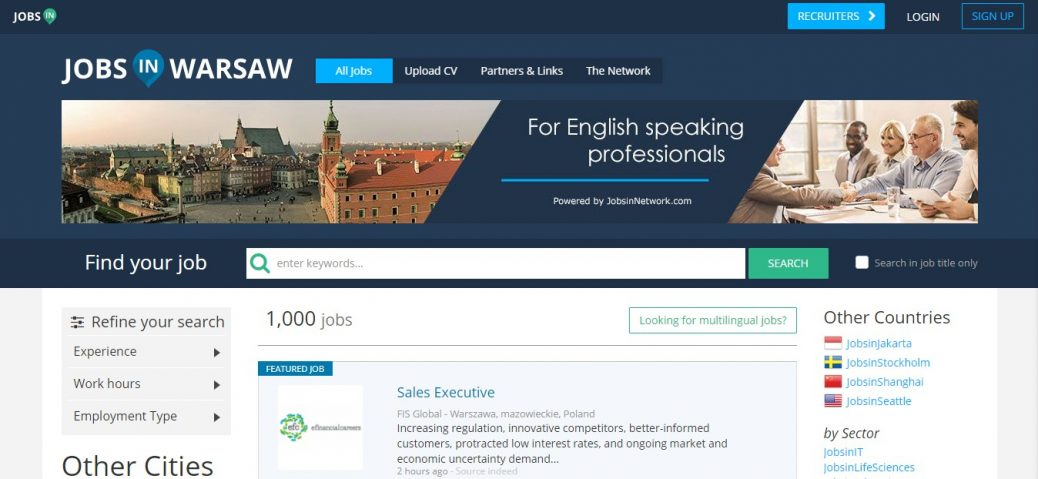 15 polish job sites - Screenshot, Features, How to's (Updated 2019