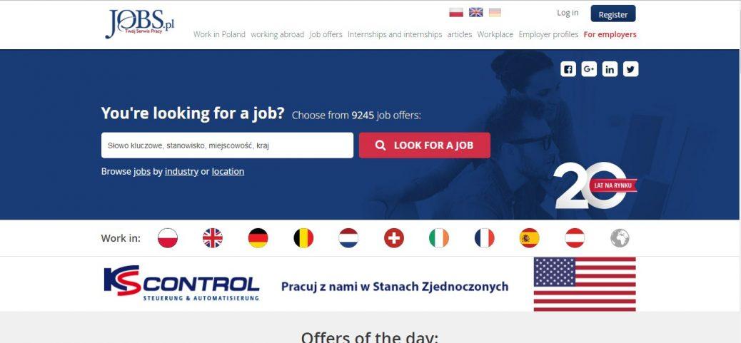 15 polish job sites