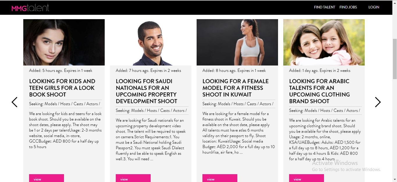 MMG Talent Dubai 2