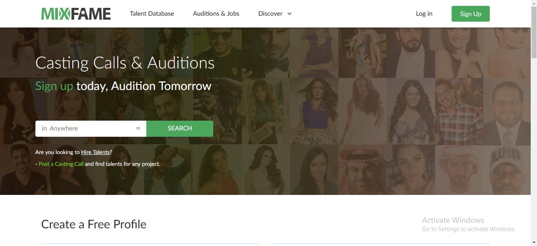 Mix Fame Talent Management Agency Dubai