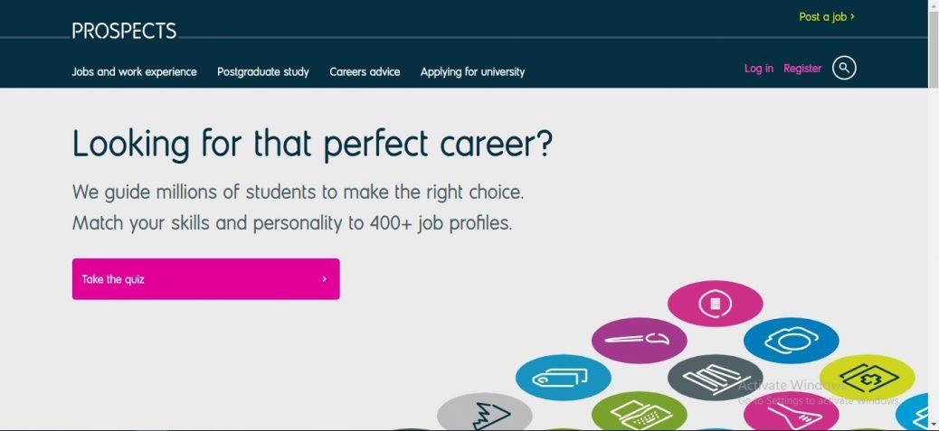 Prospect Job site