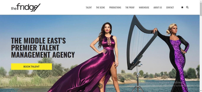 The Fridge Dubai Talent Management