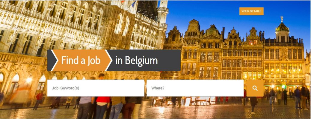 find a job in belgium