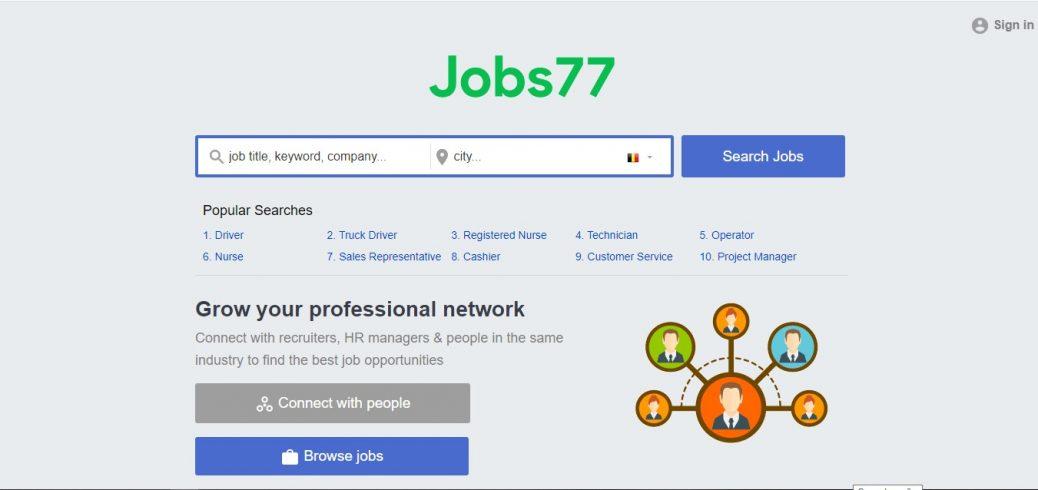 jobs77 Belgium
