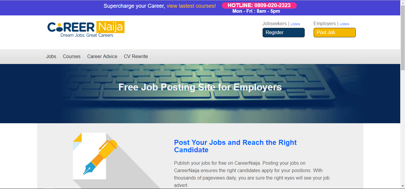 20 Job sites in Nigeria - Job portals and boards (Updated
