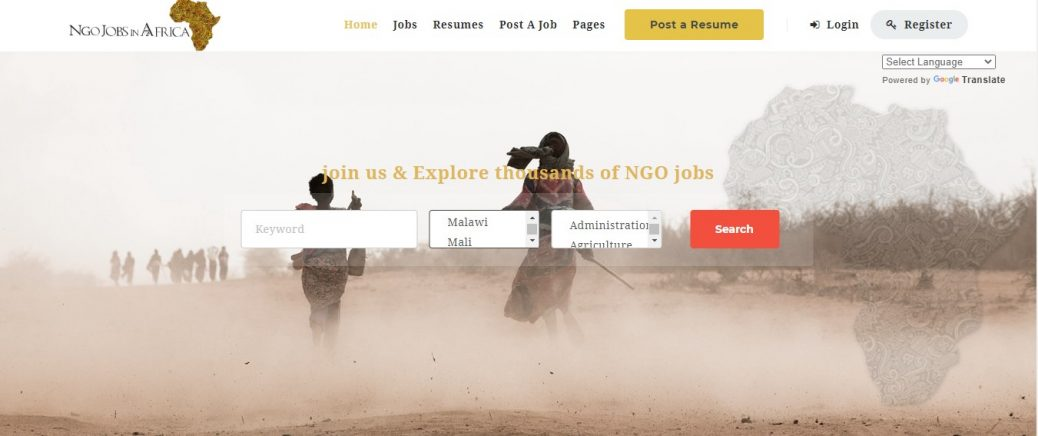 NGO Jobs in Africa