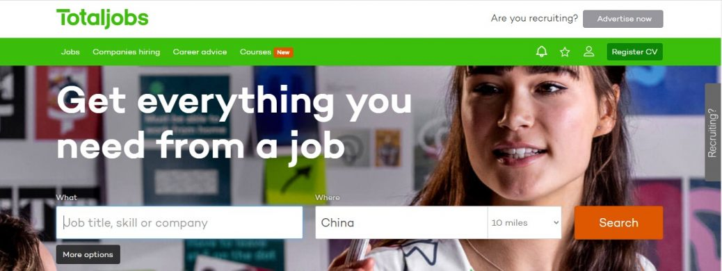 job sites in China
