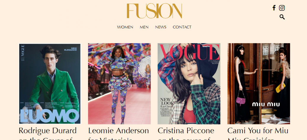 fusion modeling agency