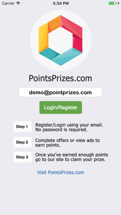 Point Prizes