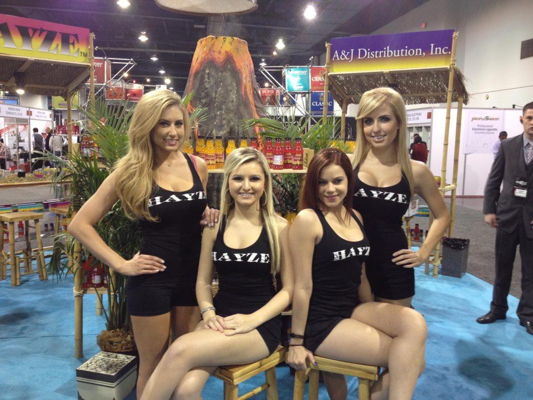 trade show models