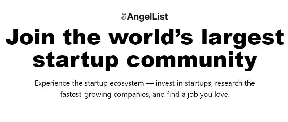 angelList -job portals in USA
