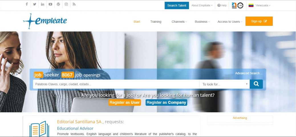 empleate.com- job sites in mexico