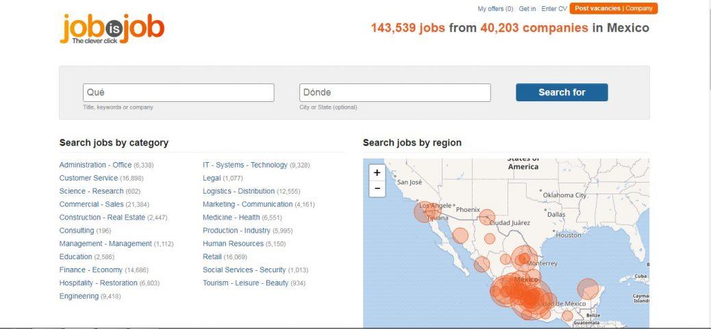 jobisjob - job sites in mexico
