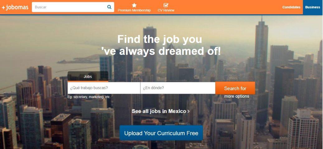 jobomas-job sites in mexico