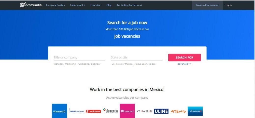 occmundial- job sites in mexico