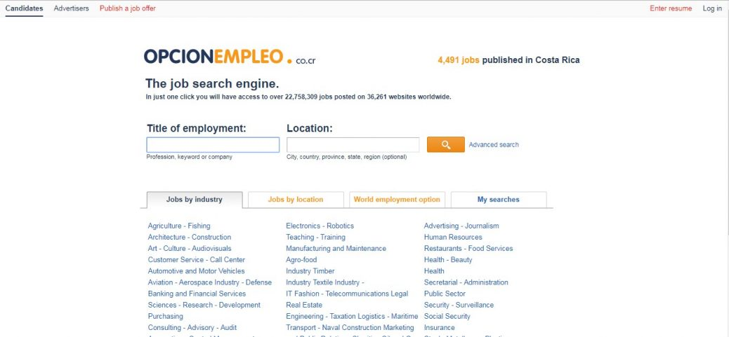opcion empleo-jobs in costa rica for expats