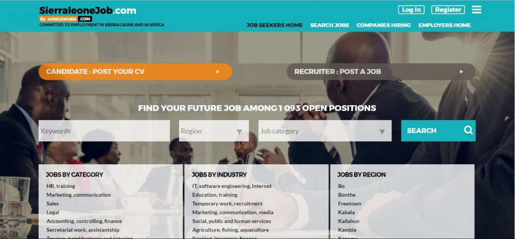 sierraleonejob.com-job vacancies in sierra leone