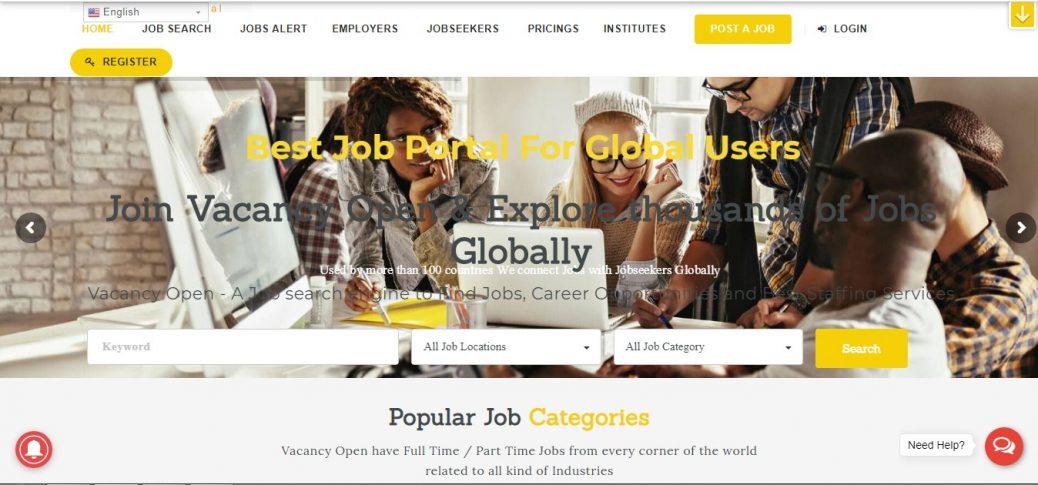 vacancyopen-job sites in mexico