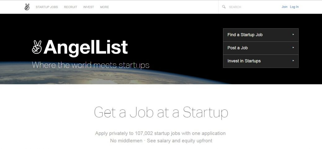 Angellist-job websites in norway