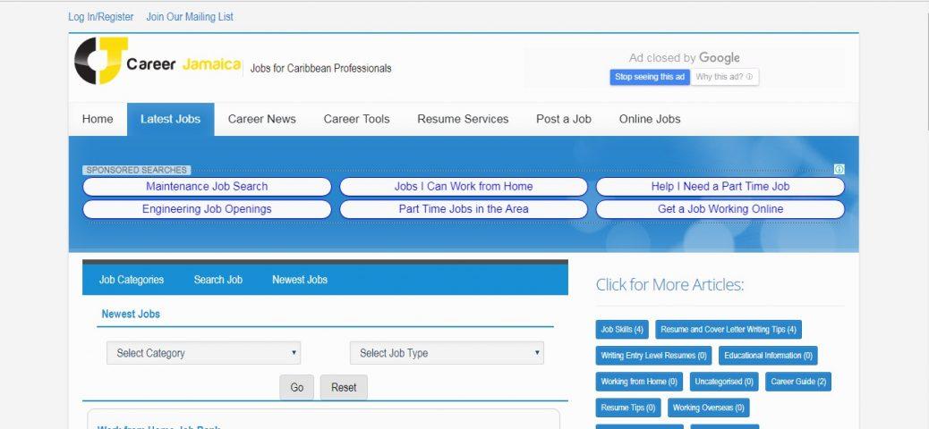 career jamaica - job websites in jamaica