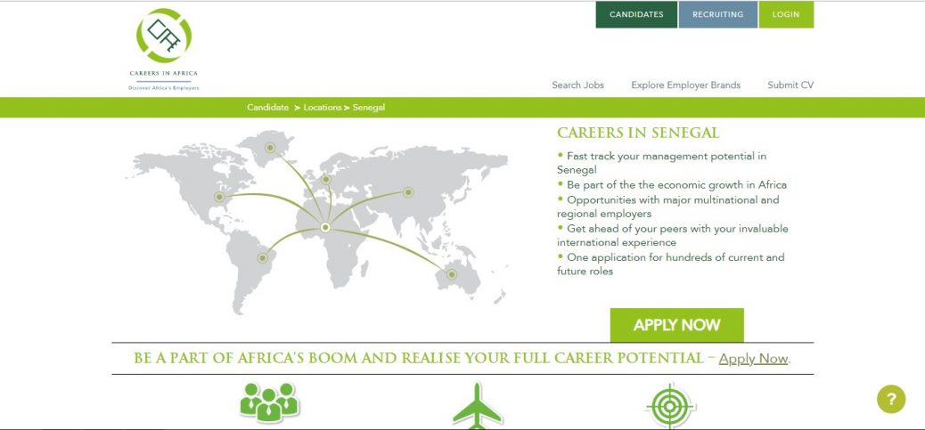 careers in africa - jobs in senegal