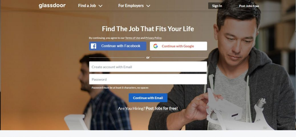glassdoor-job websites in jamaica